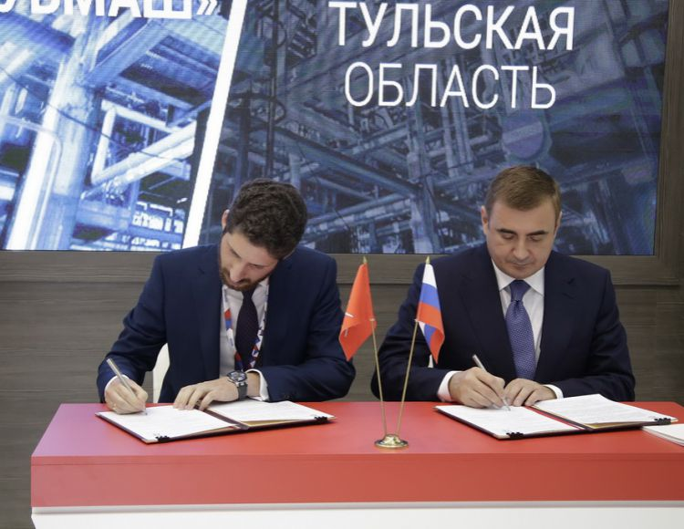 TULA REGION WILL HOUSE A PRODUCTION OF PUMP-COMPRESSOR FLEXIBLE TUBING